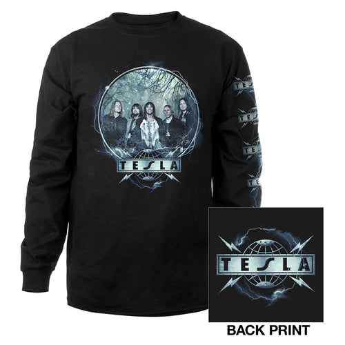 Tesla Photo Long Sleeve Tee