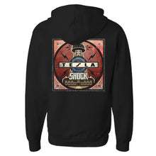 Load image into Gallery viewer, Shock Album Cover Zip Hoodie-Tesla Band