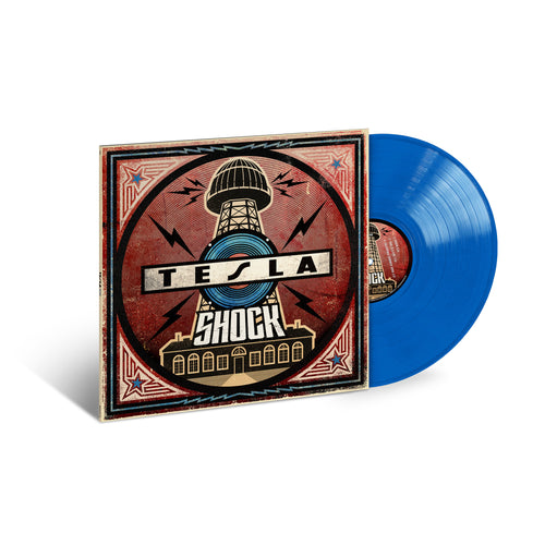 Web Exclusive SHOCK BLUE LP-Tesla Band