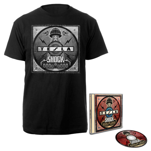 Shock CD & Tee-Tesla Band