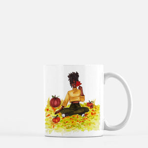 "brooke-ashley-collection-bac-art-studio - ""Autumn Leaves"" Coffee Mug -  - Brooke Ashley Collection BAC Art Studio"