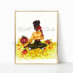 "brooke-ashley-collection-bac-art-studio - ""Autumn Leaves"" Art Print -"