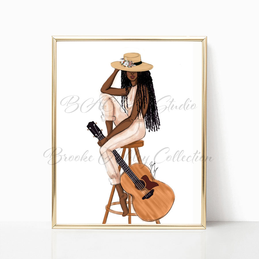 """The Musician"" Art Print"