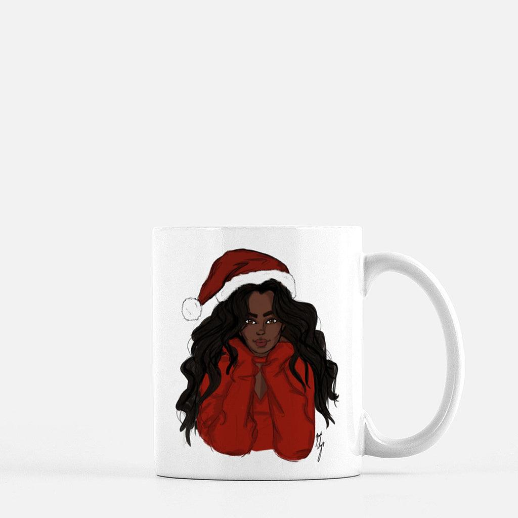 """Holly Jolly"" Coffee Mug"