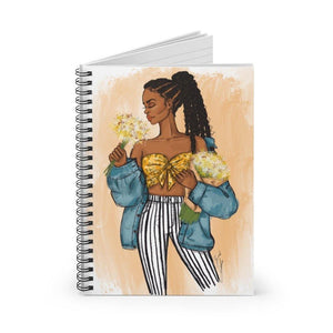 """Daisy"" Spiral Notebook - Brooke Ashley Collection"