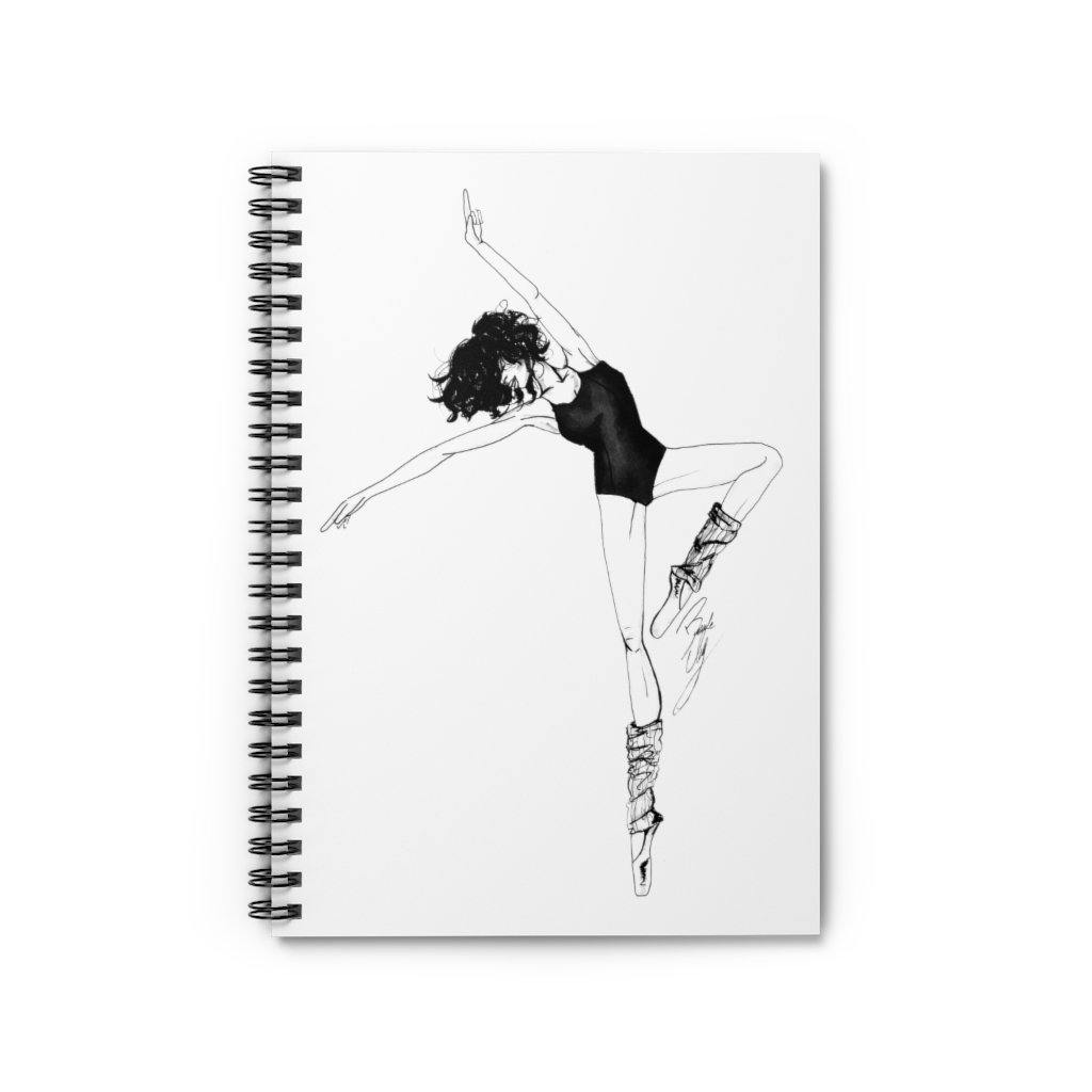 """Dancer"" Spiral Notebook - Brooke Ashley Collection"