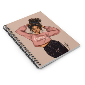 """Dreamer"" Spiral Notebook - Brooke Ashley Collection"