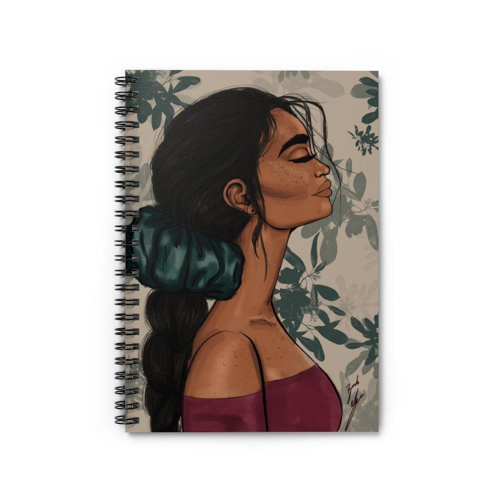 """Evergreen"" Spiral Notebook - Brooke Ashley Collection"