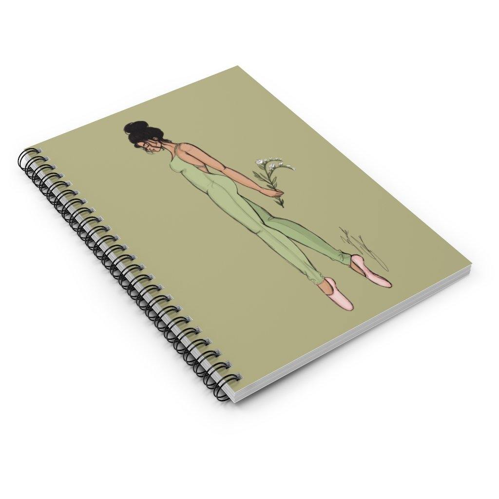 """Olive"" Spiral Notebook - Brooke Ashley Collection"