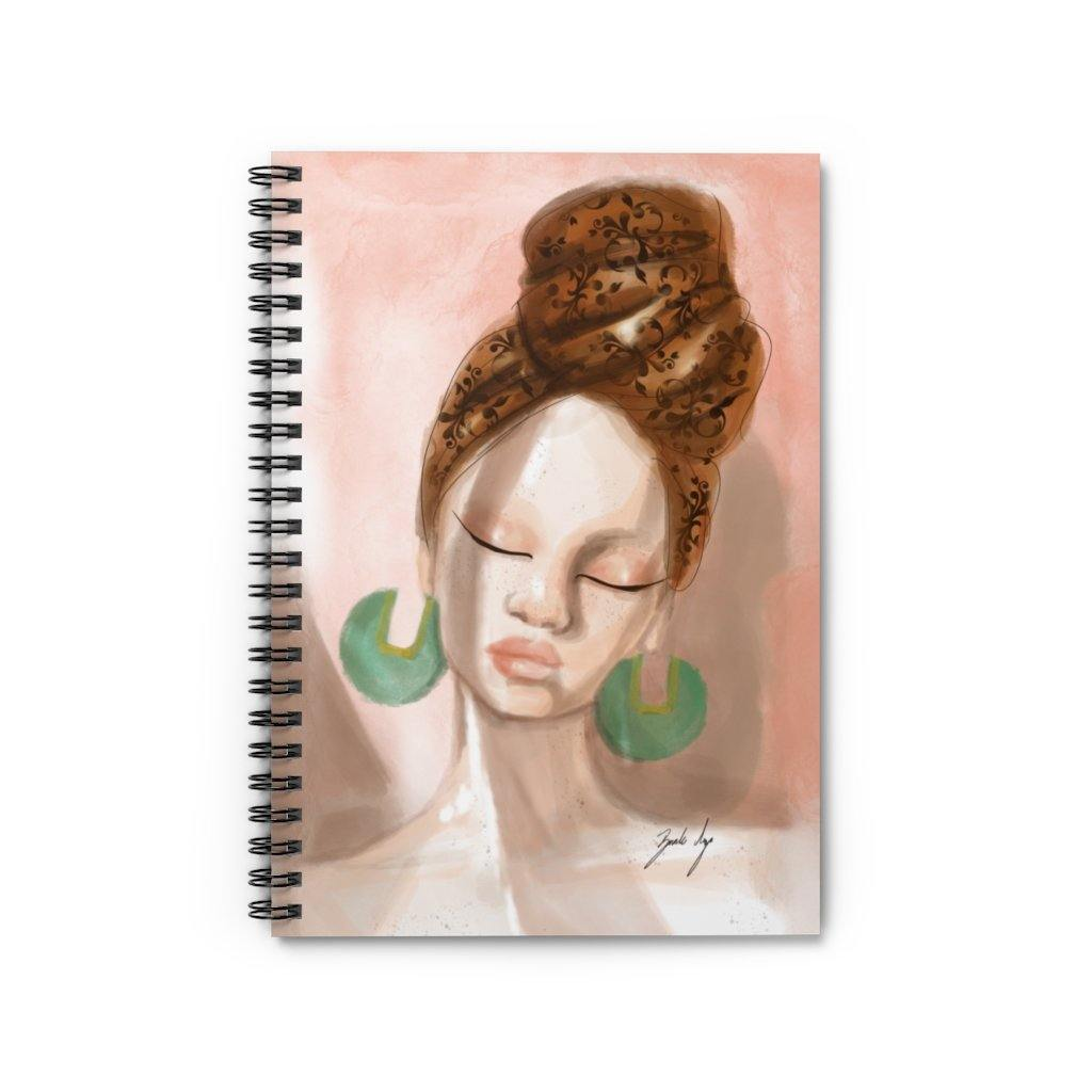 """Rays of Light"" Spiral Notebook - Brooke Ashley Collection"