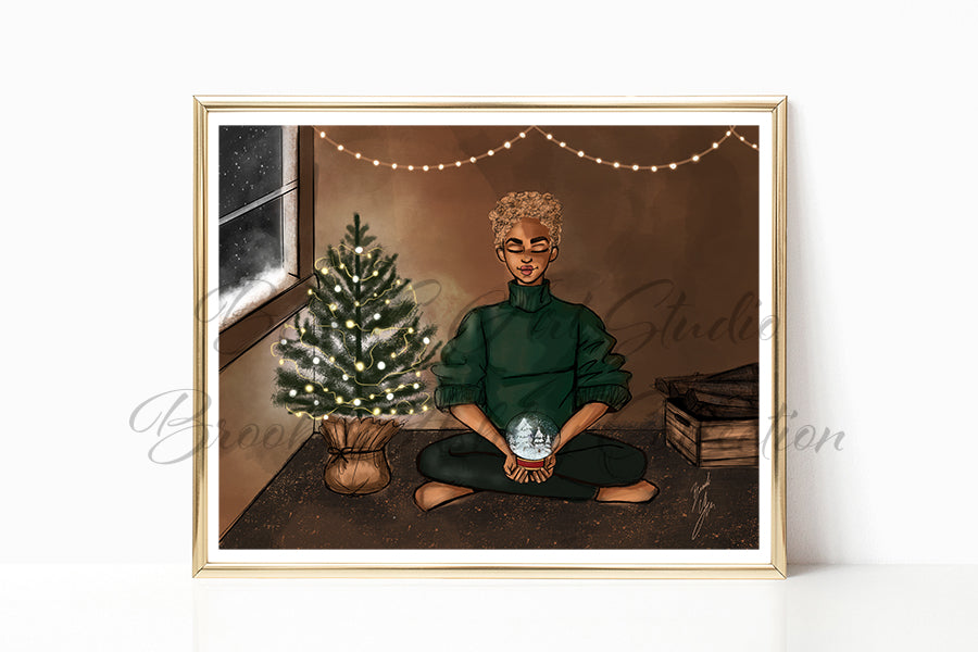 """A Silent Night"" Art Print"