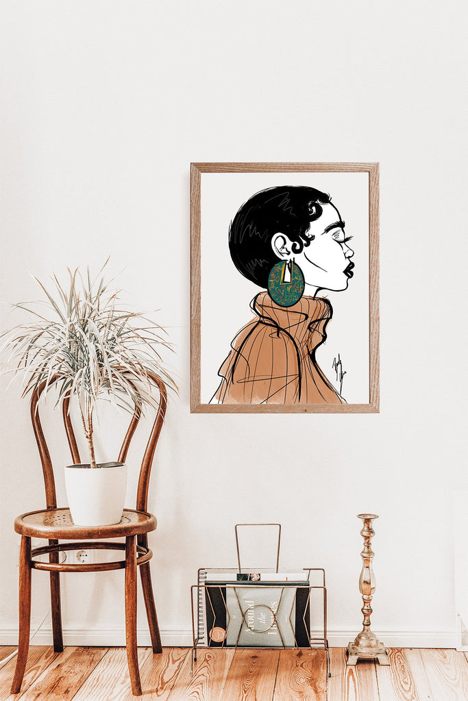 """Sage"" Art Print - Brooke Ashley Collection"