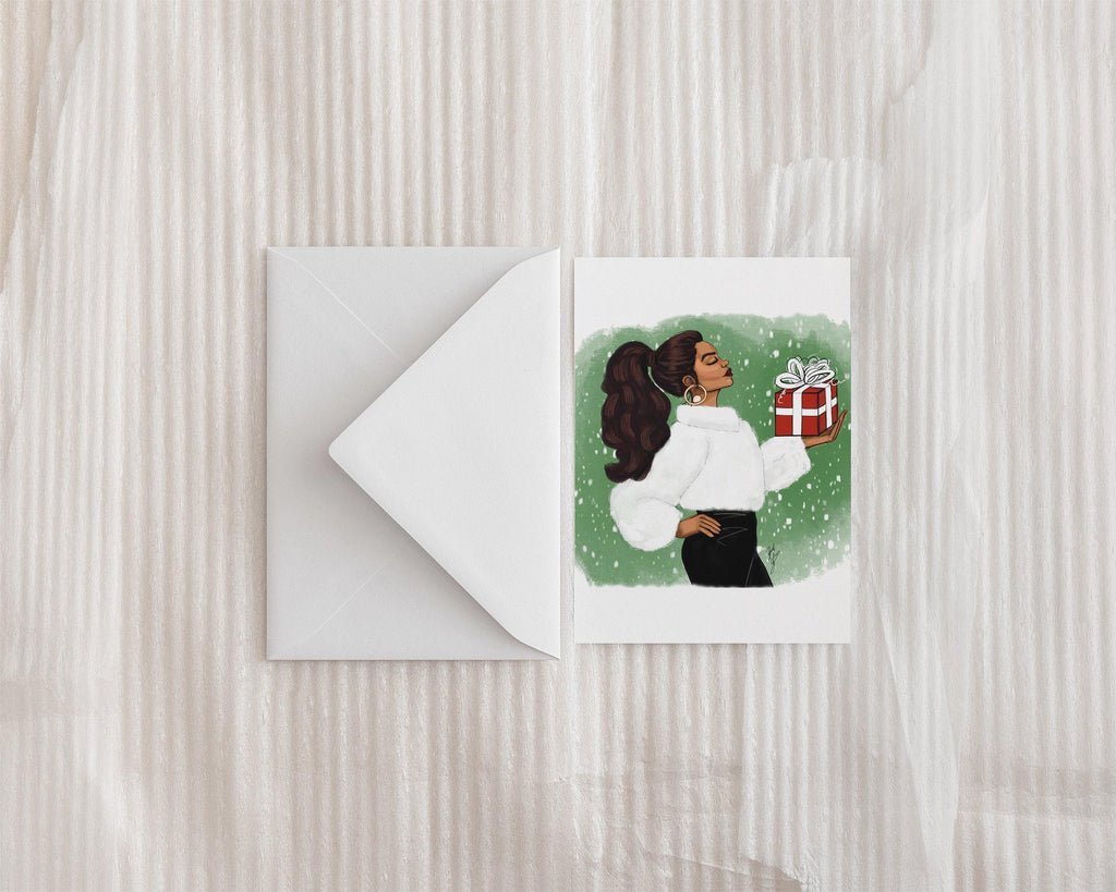 """The Gift of Giving"" Holiday Greeting Card"
