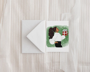 """The Gift of Giving"" Holiday Greeting Card - Brooke Ashley Collection"