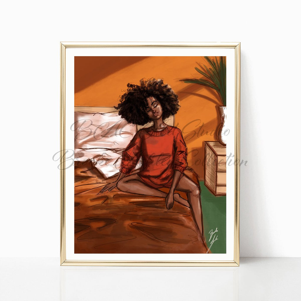 """Morning Daze"" Art Print - Brooke Ashley Collection"