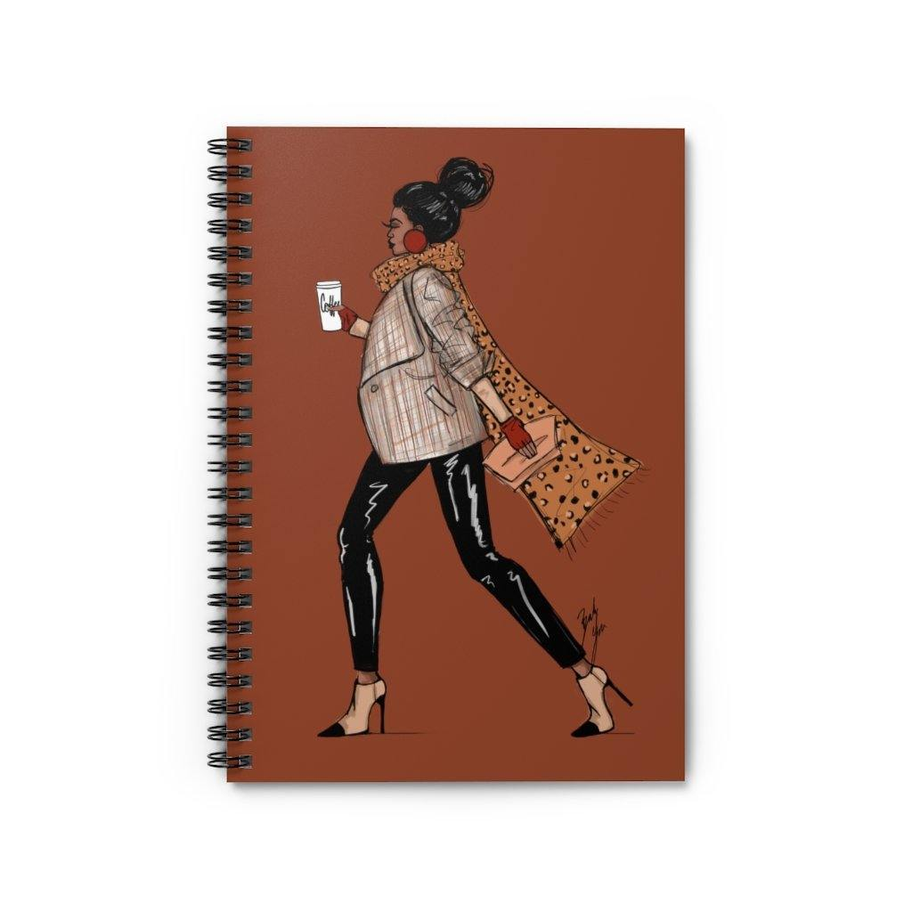 """On the Move"" Spiral Notebook - Brooke Ashley Collection"