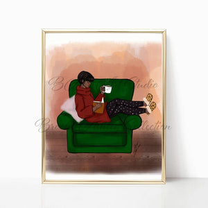 """Comfort of Home"" Art Print - Brooke Ashley Collection"