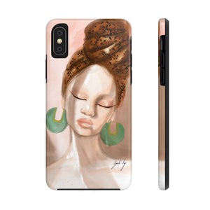 """Rays of Light"" iPhone Case (Tough) - Brooke Ashley Collection"