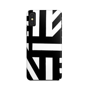 "brooke-ashley-collection-bac-art-studio - ""Striped"" iPhone Case (Tough) -  - Brooke Ashley Collection BAC Art Studio"