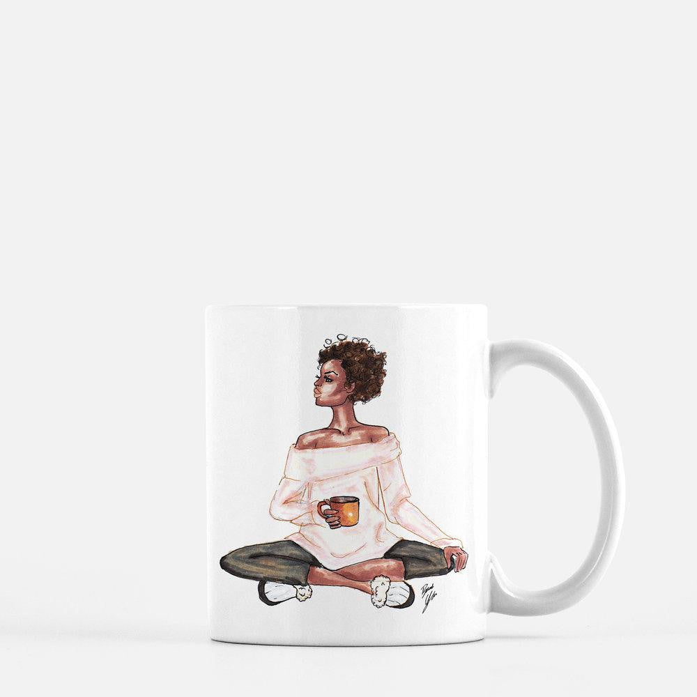 "brooke-ashley-collection-bac-art-studio - ""Sweater Weather"" Coffee Mug -  - Brooke Ashley Collection BAC Art Studio"