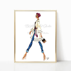 "brooke-ashley-collection-bac-art-studio - ""Going Places"" Art Print -  - Brooke Ashley Collection BAC Art Studio"