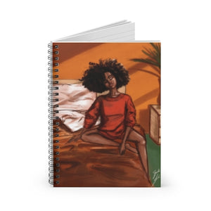 """Morning Daze"" Spiral Notebook"