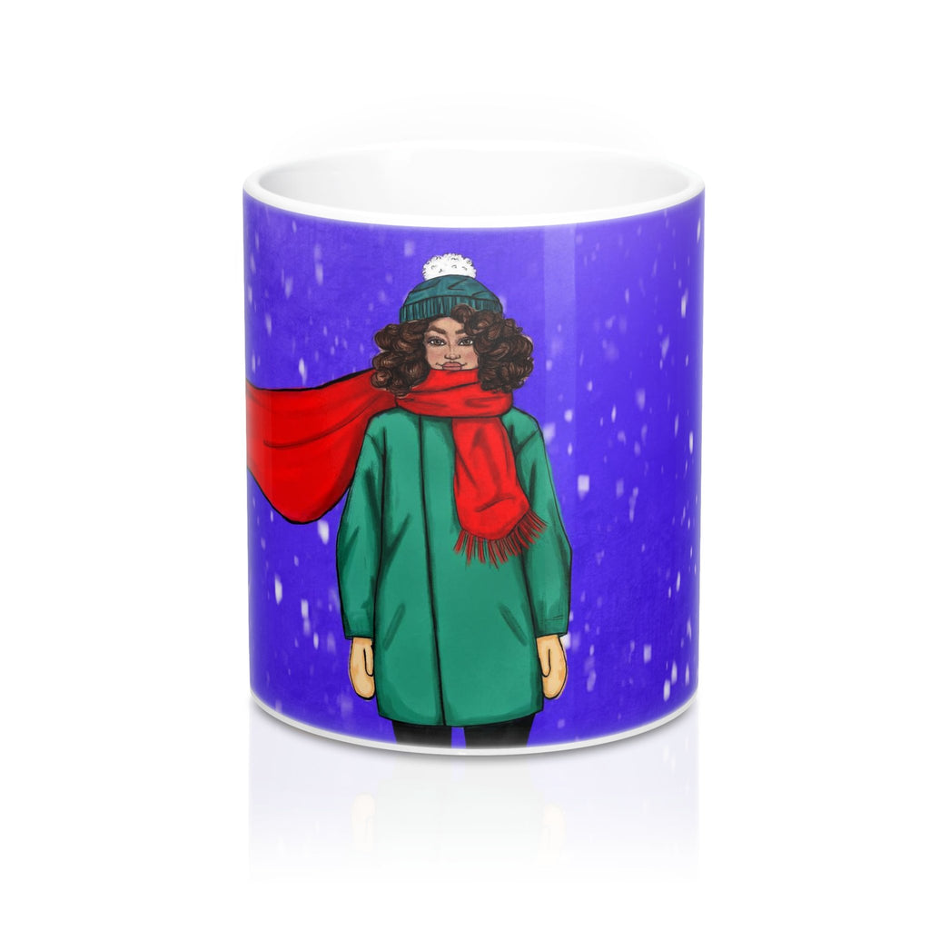 """Let it Snow"" Coffee Mug - Brooke Ashley Collection"