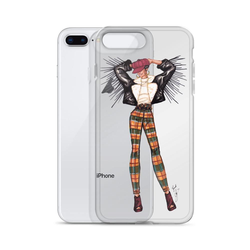 "brooke-ashley-collection-bac-art-studio - ""Autumn Vibes"" Clear iPhone Case -  - Brooke Ashley Collection BAC Art Studio"