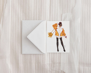 """Street Style"" Greeting Card"