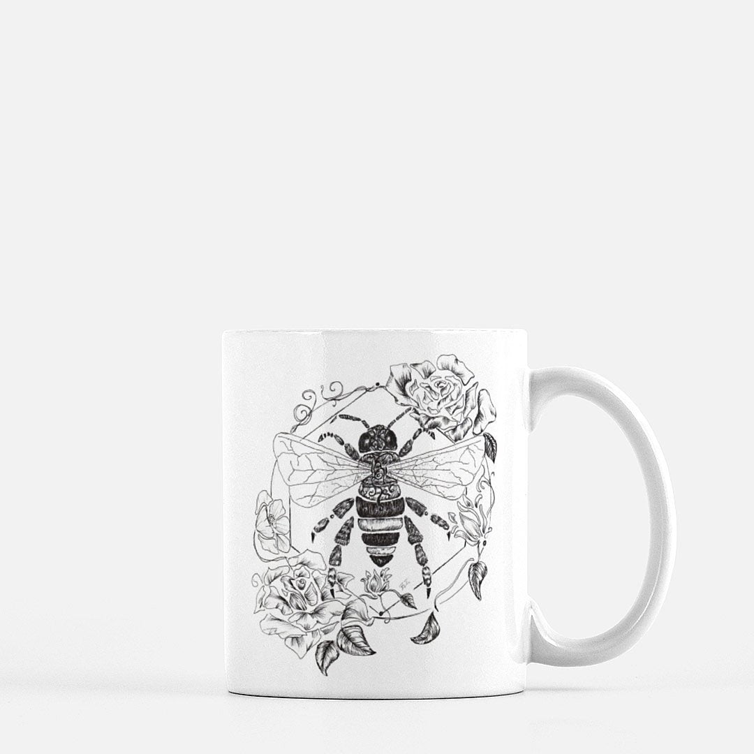 """Honeybee"" Coffee Mug - Brooke Ashley Collection"