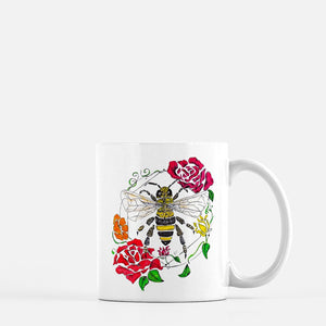 """Honeybee"" (color) Coffee Mug"