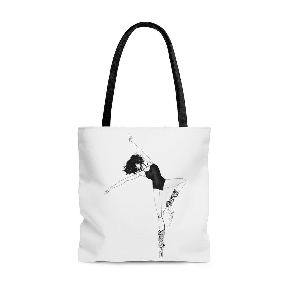 "brooke-ashley-collection-bac-art-studio - ""Dancer"" Tote Bag -  - Brooke Ashley Collection BAC Art Studio"