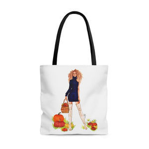 "brooke-ashley-collection-bac-art-studio - ""Pumpkin Patch"" Tote Bag -  - Brooke Ashley Collection BAC Art Studio"