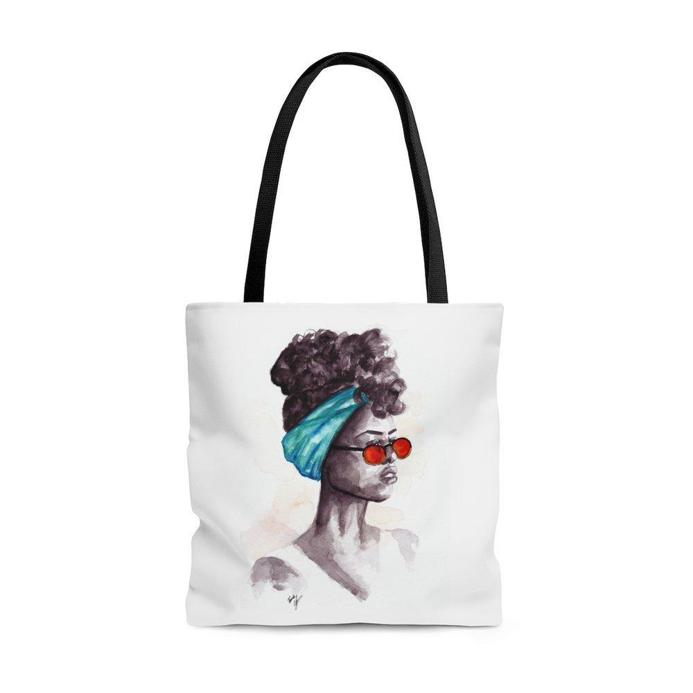 "brooke-ashley-collection-bac-art-studio - ""Shades"" Tote Bag -  - Brooke Ashley Collection BAC Art Studio"