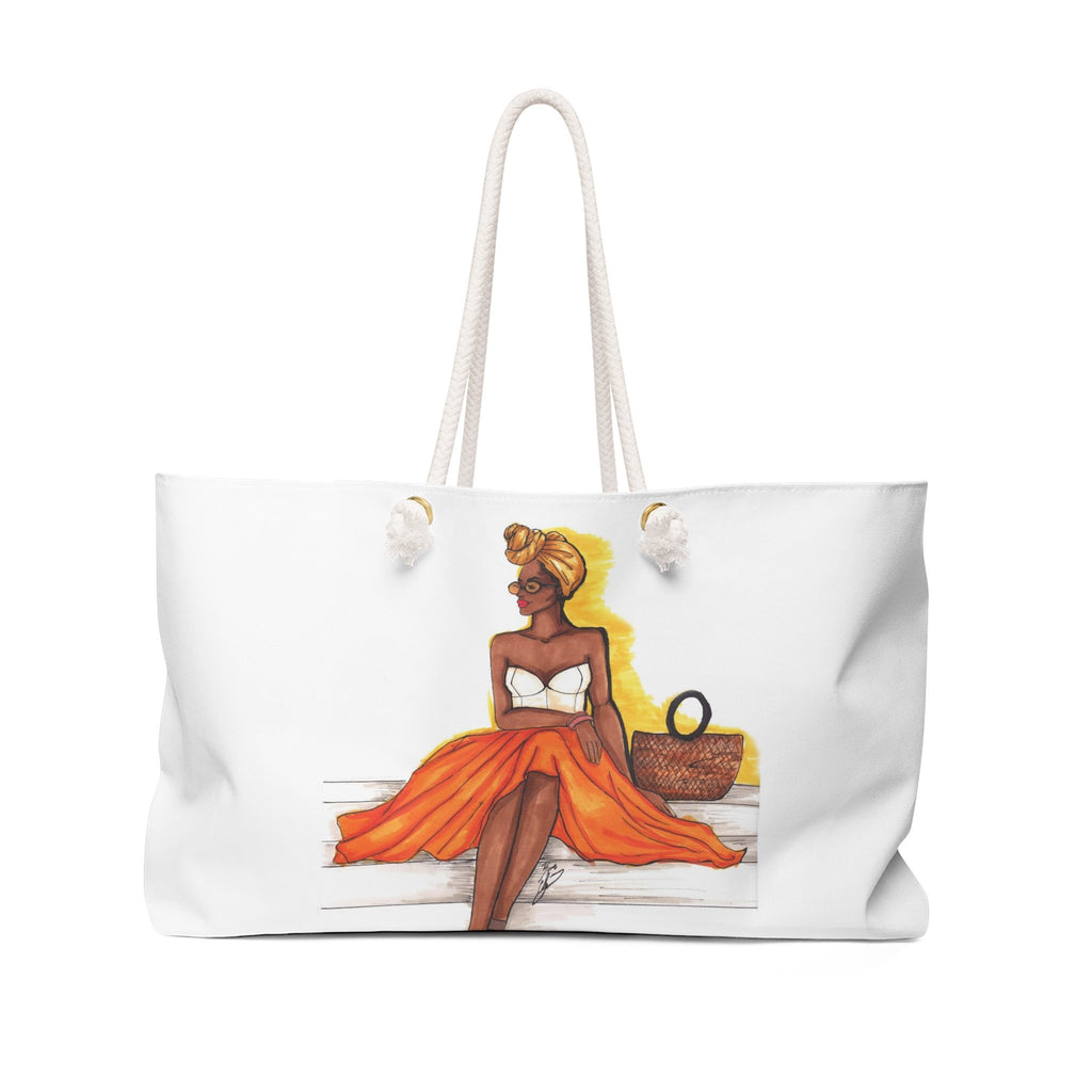 "brooke-ashley-collection-bac-art-studio - ""Summer Glow"" Weekender Bag -  - Brooke Ashley Collection BAC Art Studio"