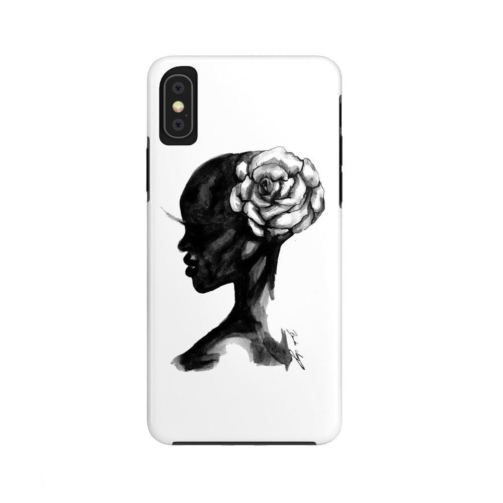 "brooke-ashley-collection-bac-art-studio - ""Wild Flower"" iPhone Case (Tough) -  - Brooke Ashley Collection BAC Art Studio"