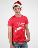 "Santa Red ""Jingle all the way"" unisex christmas t-shirt"