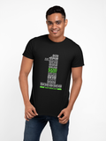 "Black ""God First"" unisex Christian t-shirt"