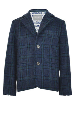 Cooper : Checked blazer