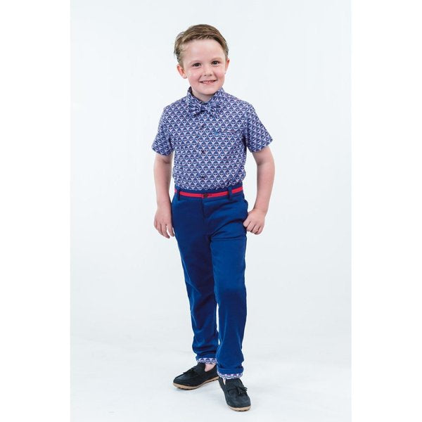 Dudley:  Blue Trousers