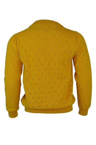 Verity : Mustard cardigan