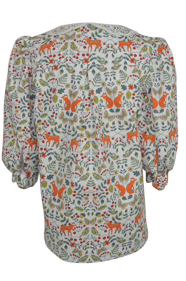 Beatrix : Unique print blouse