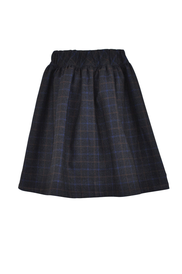 Jasmine : Checked skirt