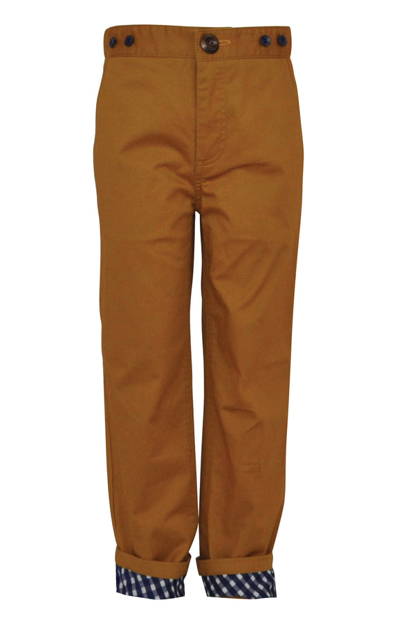 Hillman : Caramel trousers & braces