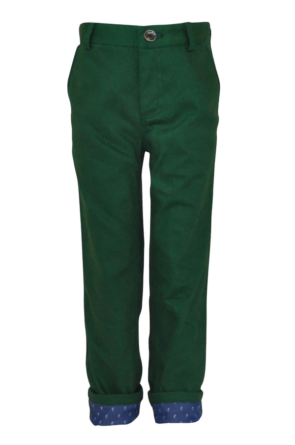Aston : Green trousers