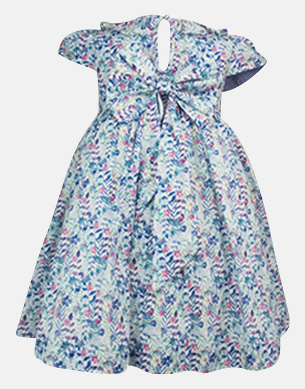 Maddie: Haworth Print Dress & Headband Set