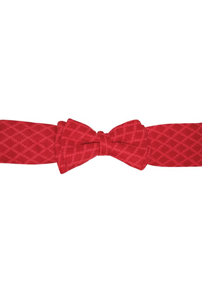 red jacquard girls headband bow accessories smart princess holidays