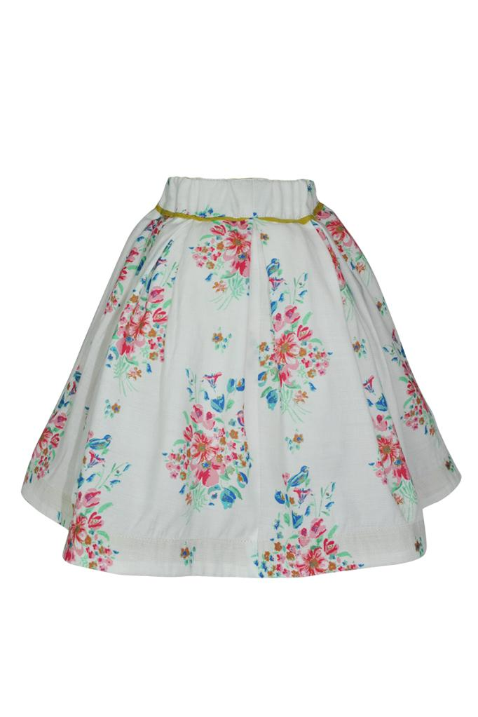 Neave: Floral skirt