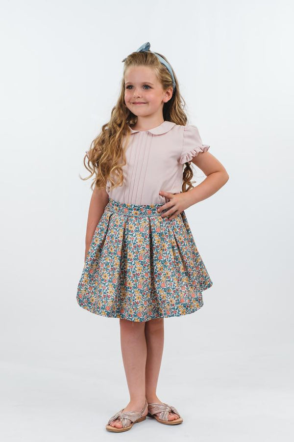 Betsy: Ditsy floral skirt