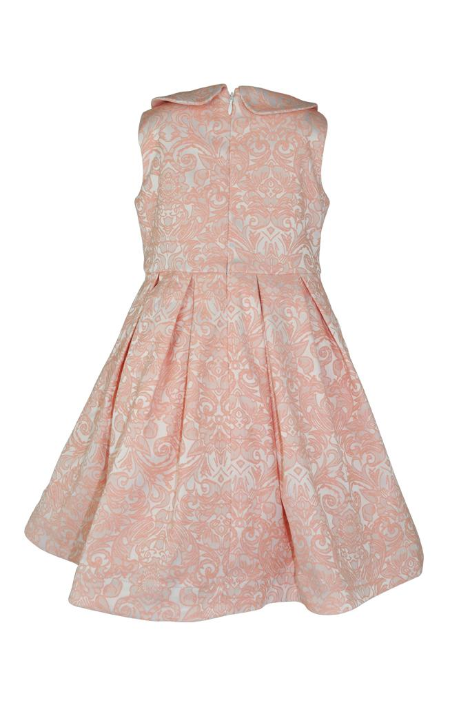 Florence: Blossom jacquard dress